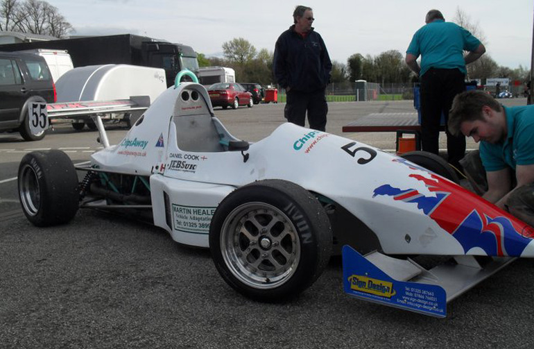 Drive a F1000 Single Seater Car